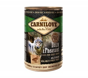 Carnilove Hund Dose Adult Duck & Pheasant 6x400g