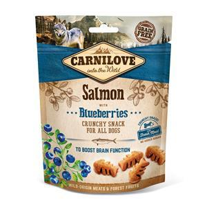 Carnilove Dog Snack Crunchy Salmon with Blueberries 200g