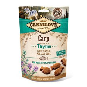 Carnilove Dog Snack Soft Carp with Thyme 200g
