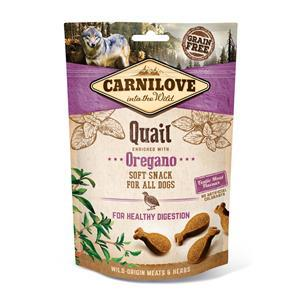 Carnilove Dog Snack Soft Quail with Oregano 200g