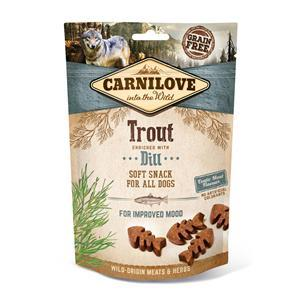 Carnilove Dog Snack Soft Trout with Dill 200g