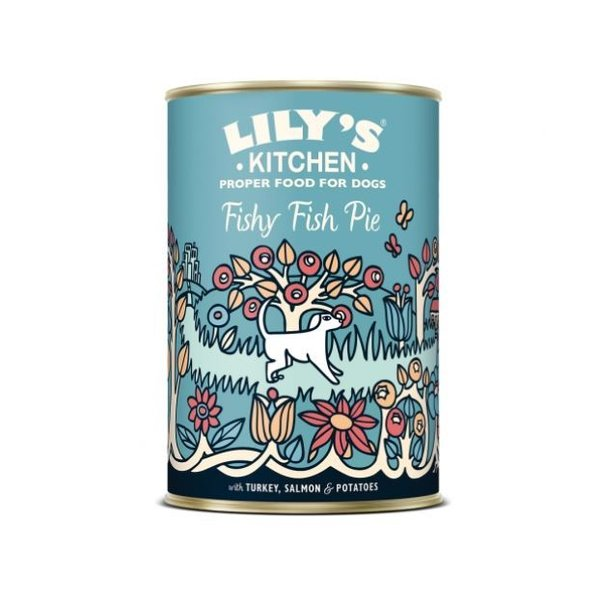 Lilys Kitchen Dog Fishy Fish Pie 6x400g
